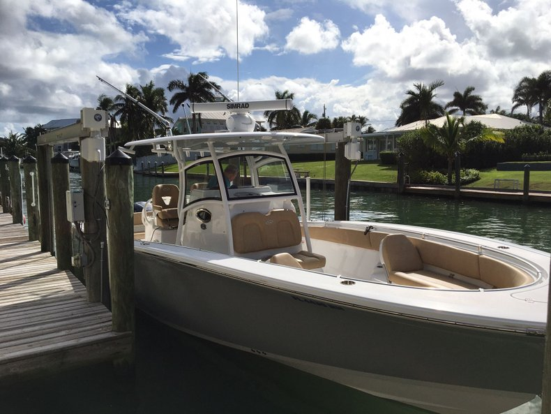 Thumbnail 1 for Used 2018 Sportsman Open 312 Center Console boat for sale in West Palm Beach, FL