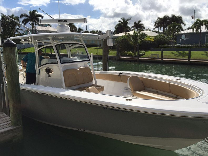 Thumbnail 2 for Used 2018 Sportsman Open 312 Center Console boat for sale in West Palm Beach, FL