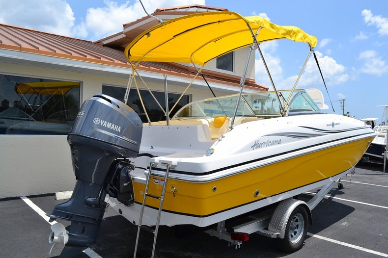 Image 6 for 2014 Hurricane SunDeck SD 187 OB in West Palm Beach, FL