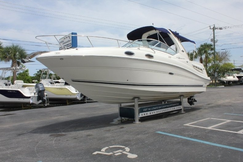 Used 2006 Sea Ray 260 Sundancer boat for sale in West Palm