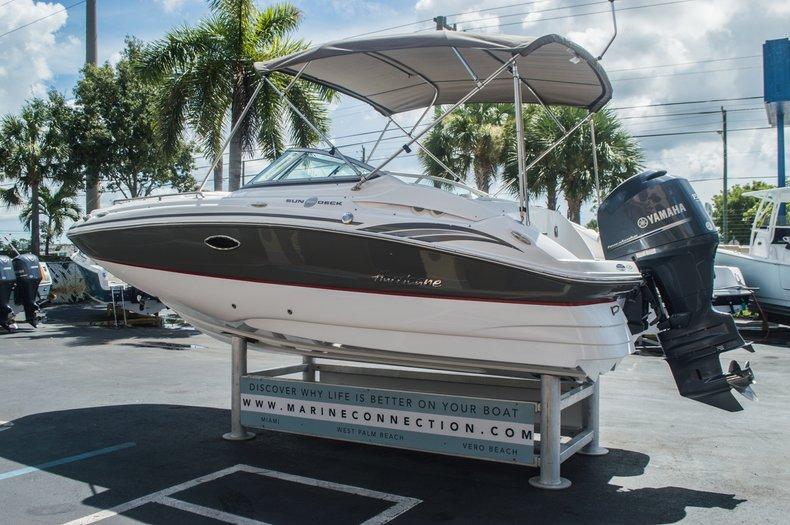 Thumbnail 5 for Used 2013 Hurricane SunDeck SD 2000 OB boat for sale in Vero Beach, FL