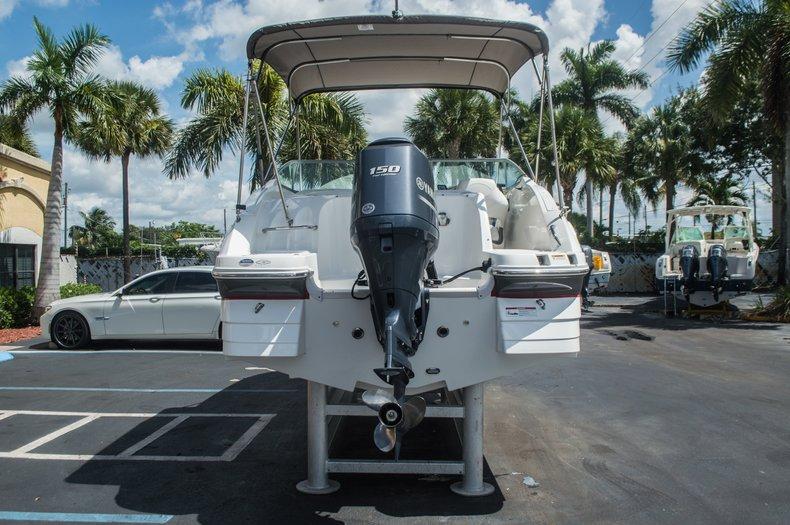 Thumbnail 6 for Used 2013 Hurricane SunDeck SD 2000 OB boat for sale in Vero Beach, FL