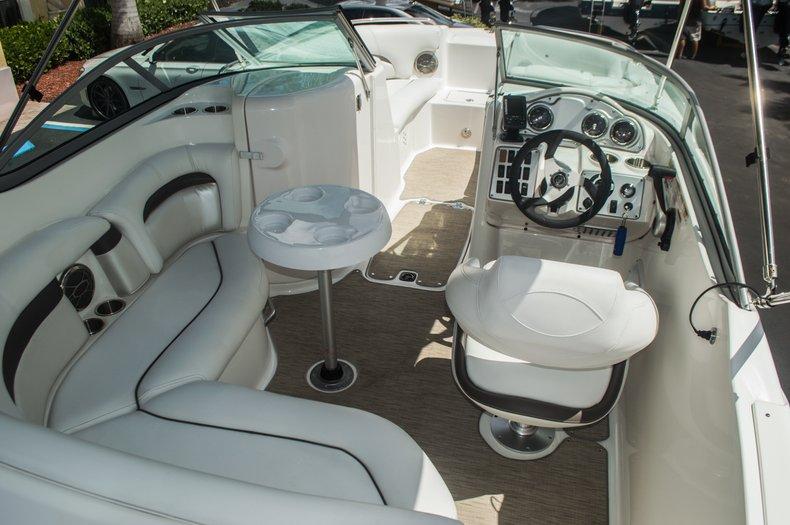 Thumbnail 8 for Used 2013 Hurricane SunDeck SD 2000 OB boat for sale in Vero Beach, FL
