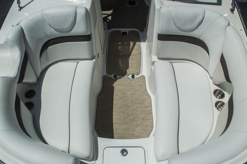 Thumbnail 10 for Used 2013 Hurricane SunDeck SD 2000 OB boat for sale in Vero Beach, FL