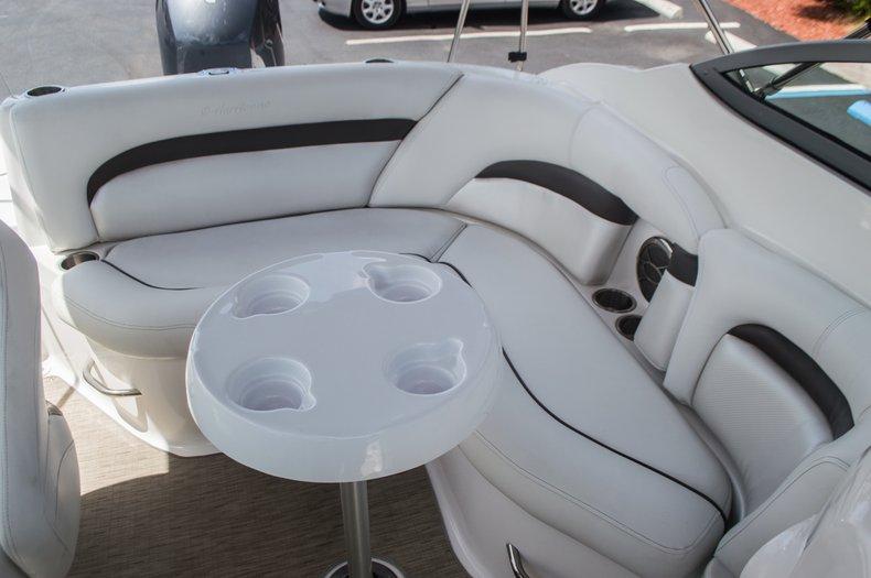 Thumbnail 36 for Used 2013 Hurricane SunDeck SD 2000 OB boat for sale in Vero Beach, FL