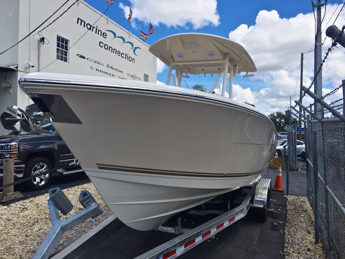 New 2016 Cobia 277 Center Console boat for sale in Vero Beach, FL