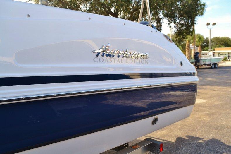 Thumbnail 4 for New 2016 Hurricane Sundeck Sport SS 231 OB boat for sale in Vero Beach, FL