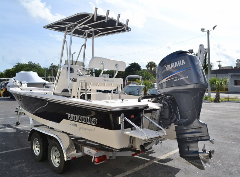 Thumbnail 4 for Used 2008 Pathfinder 2200 Tournament XL Center Console boat for sale in Vero Beach, FL