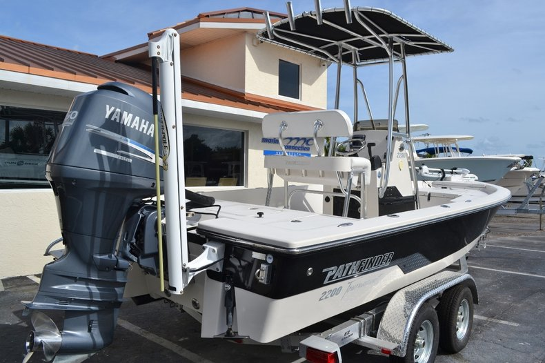 Thumbnail 7 for Used 2008 Pathfinder 2200 Tournament XL Center Console boat for sale in Vero Beach, FL