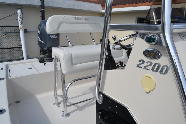 Thumbnail 18 for Used 2008 Pathfinder 2200 Tournament XL Center Console boat for sale in Vero Beach, FL