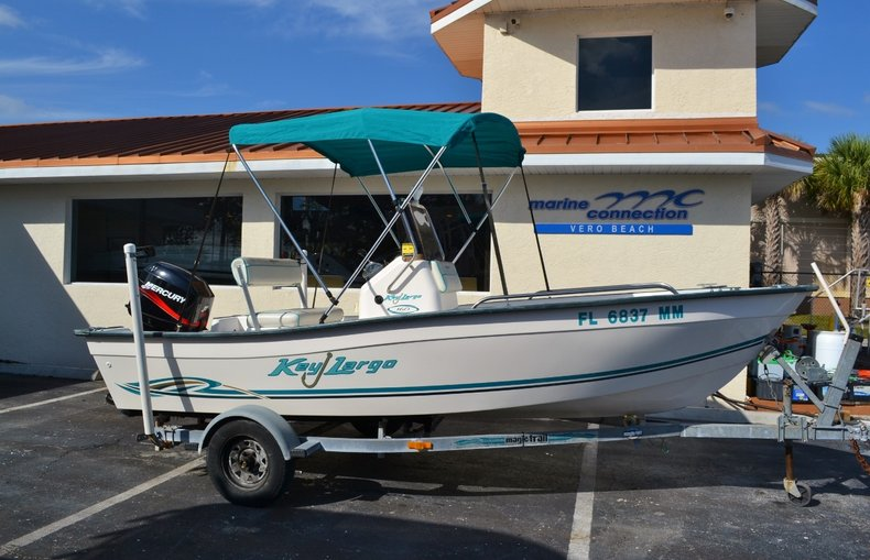 Thumbnail 0 for Used 2004 Key Largo 160 cc boat for sale in Vero Beach, FL