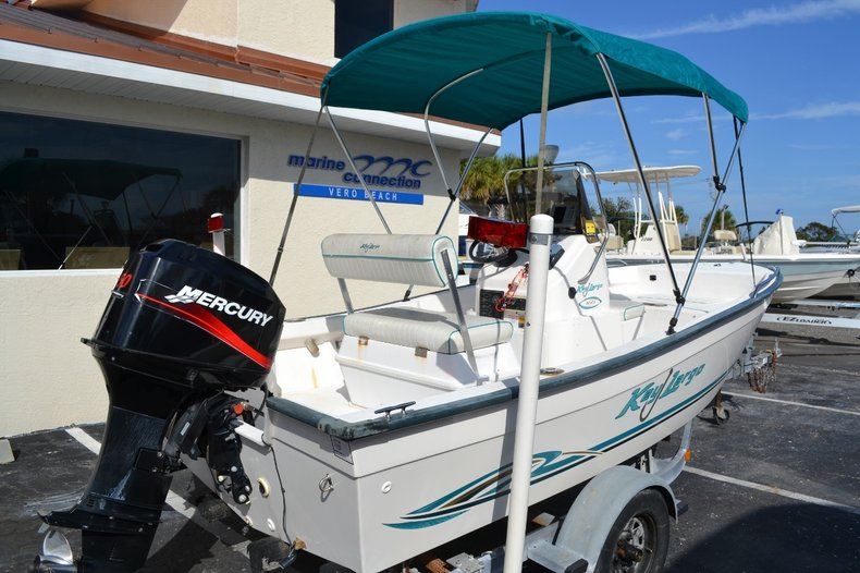 Thumbnail 6 for Used 2004 Key Largo 160 cc boat for sale in Vero Beach, FL