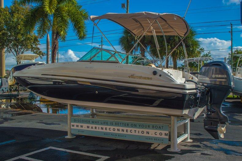 Thumbnail 5 for New 2016 Hurricane SunDeck SD 187 OB boat for sale in Vero Beach, FL