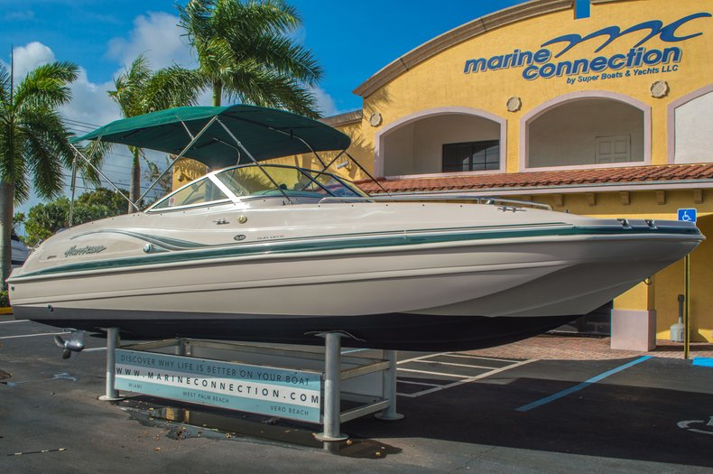 Image 1 for 2001 Hurricane SunDeck SD 237 OB in Vero Beach, FL
