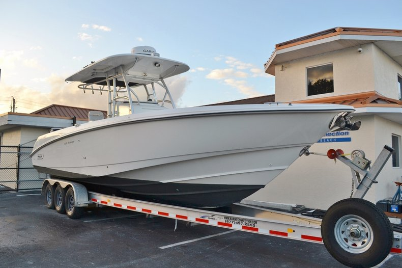 Thumbnail 1 for Used 2007 Boston Whaler 320 Outrage boat for sale in Vero Beach, FL