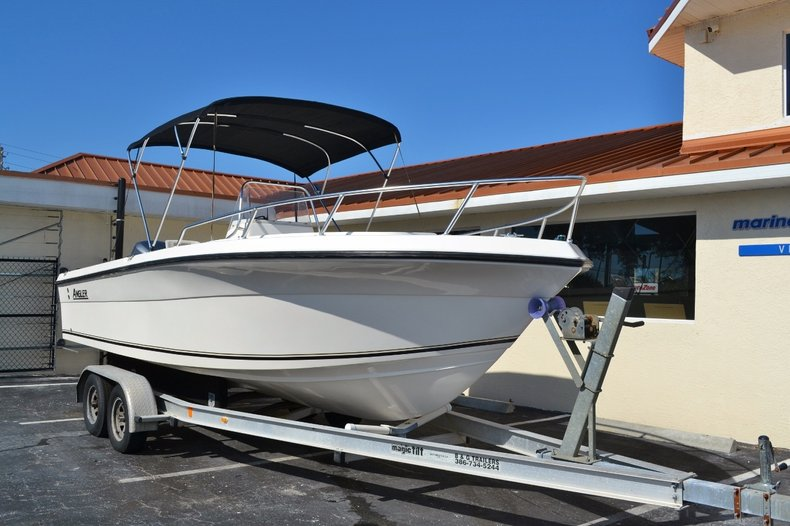 Thumbnail 1 for Used 2003 Angler 220 boat for sale in Vero Beach, FL