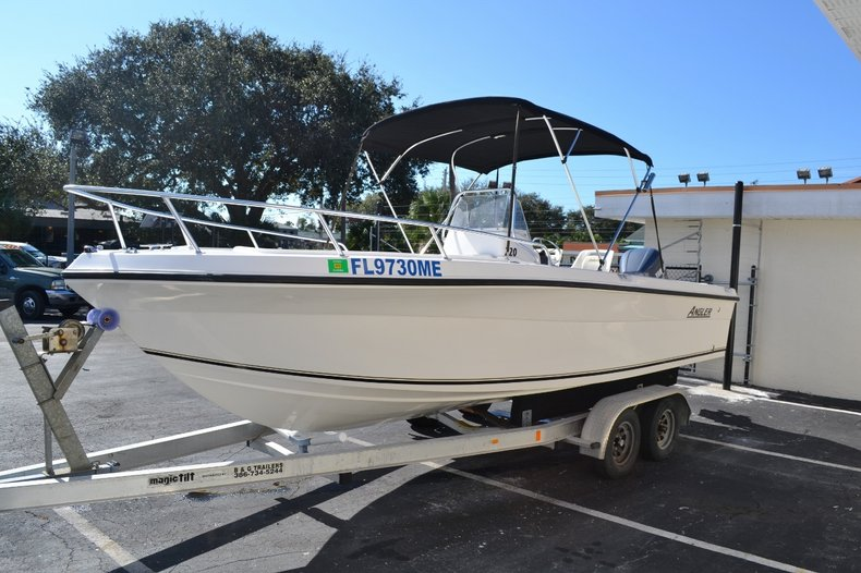 Thumbnail 3 for Used 2003 Angler 220 boat for sale in Vero Beach, FL