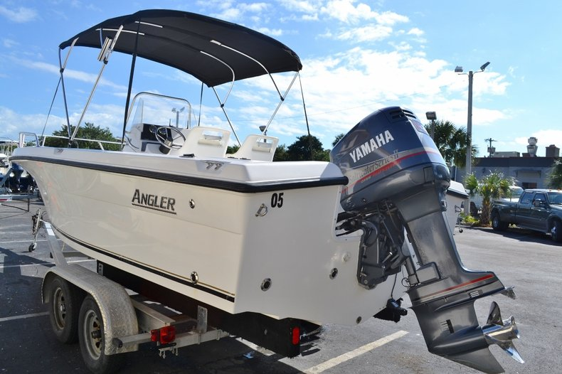 Thumbnail 4 for Used 2003 Angler 220 boat for sale in Vero Beach, FL