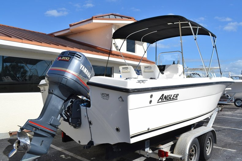 Thumbnail 6 for Used 2003 Angler 220 boat for sale in Vero Beach, FL