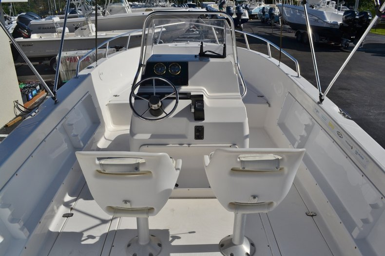 Thumbnail 10 for Used 2003 Angler 220 boat for sale in Vero Beach, FL