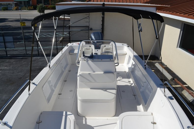 Thumbnail 14 for Used 2003 Angler 220 boat for sale in Vero Beach, FL