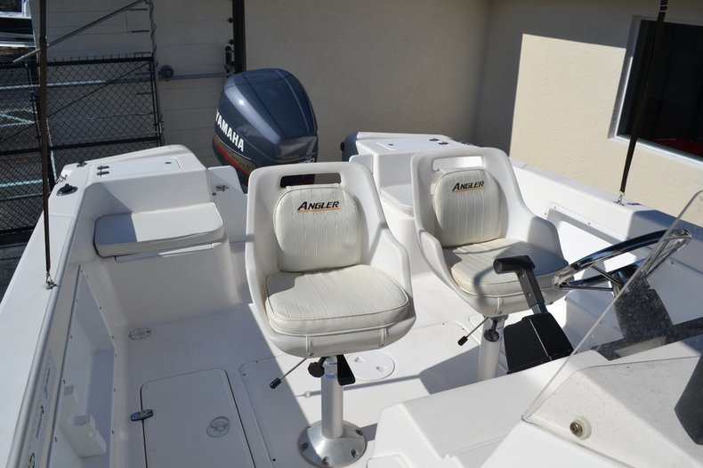 Thumbnail 17 for Used 2003 Angler 220 boat for sale in Vero Beach, FL