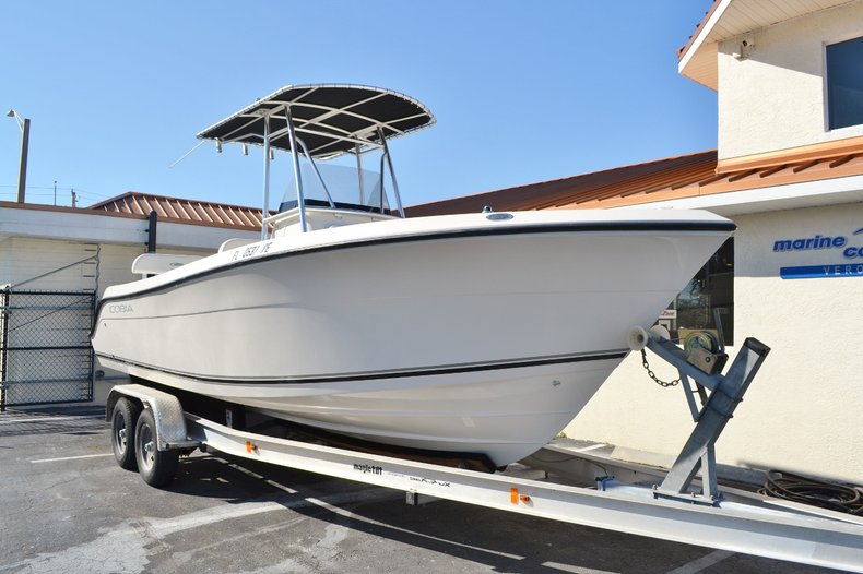 Thumbnail 1 for Used 2010 Cobia 237 Center Console boat for sale in Vero Beach, FL