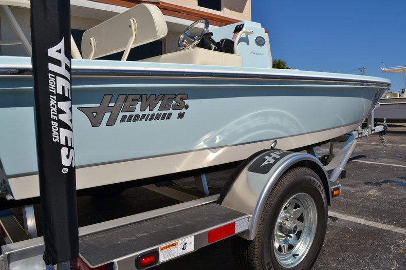 Thumbnail 9 for New 2016 Hewes 16 Redfisher boat for sale in Vero Beach, FL