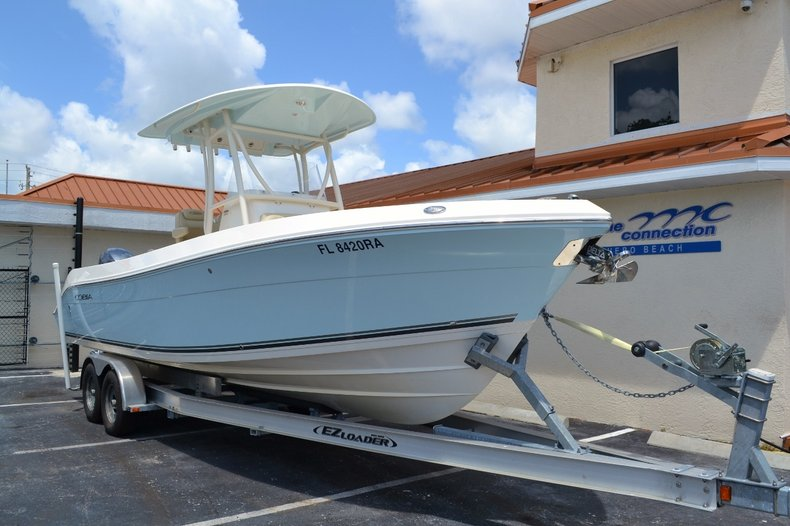 Thumbnail 1 for Used 2015 Cobia 256 Center Console boat for sale in Vero Beach, FL