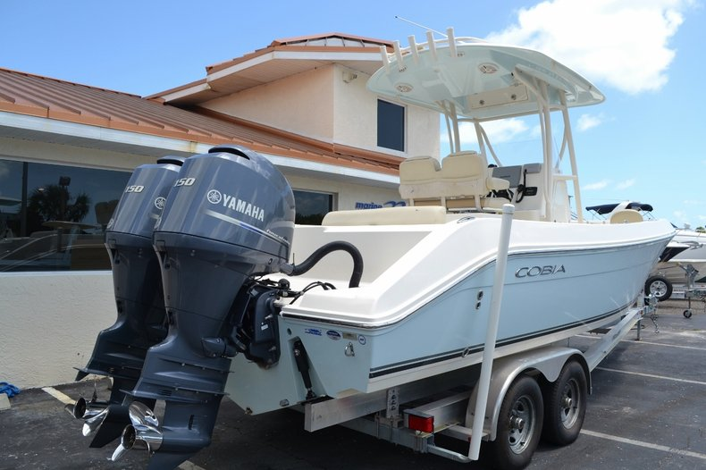 Thumbnail 6 for Used 2015 Cobia 256 Center Console boat for sale in Vero Beach, FL
