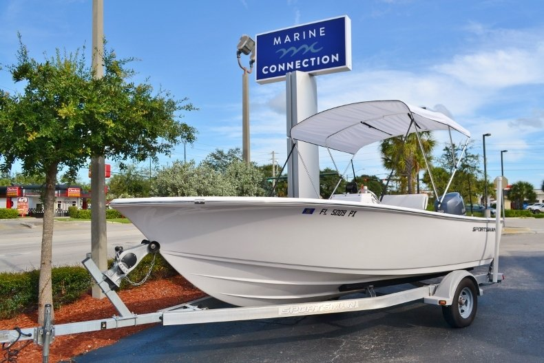 Thumbnail 1 for Used 2015 Sportsman 19 Island Reef boat for sale in Vero Beach, FL