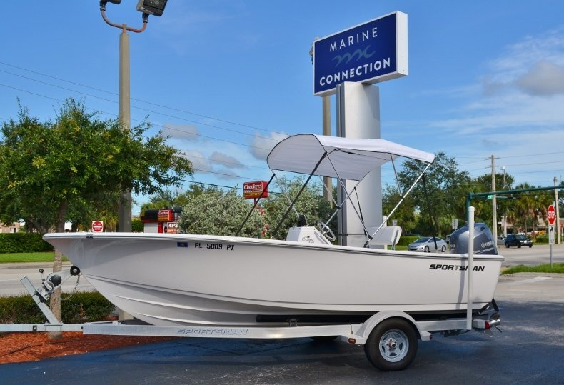 Thumbnail 0 for Used 2015 Sportsman 19 Island Reef boat for sale in Vero Beach, FL