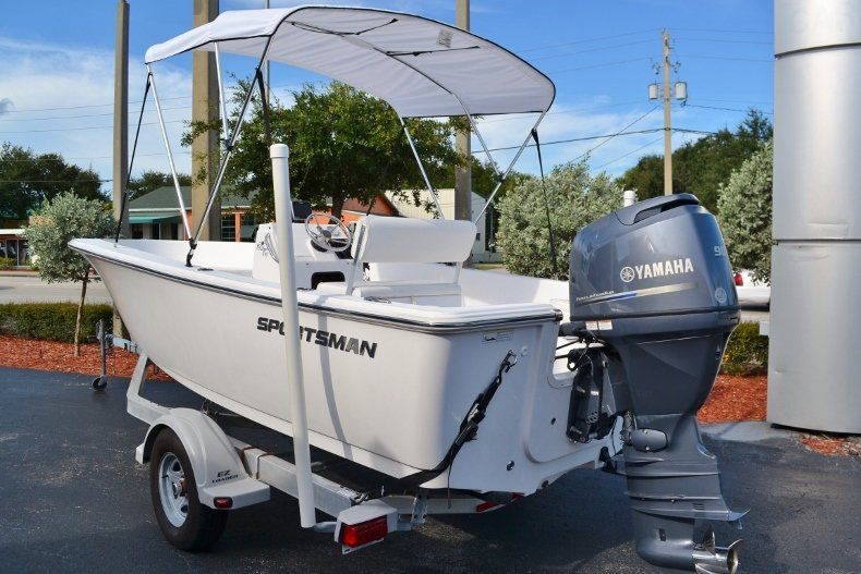 Thumbnail 2 for Used 2015 Sportsman 19 Island Reef boat for sale in Vero Beach, FL