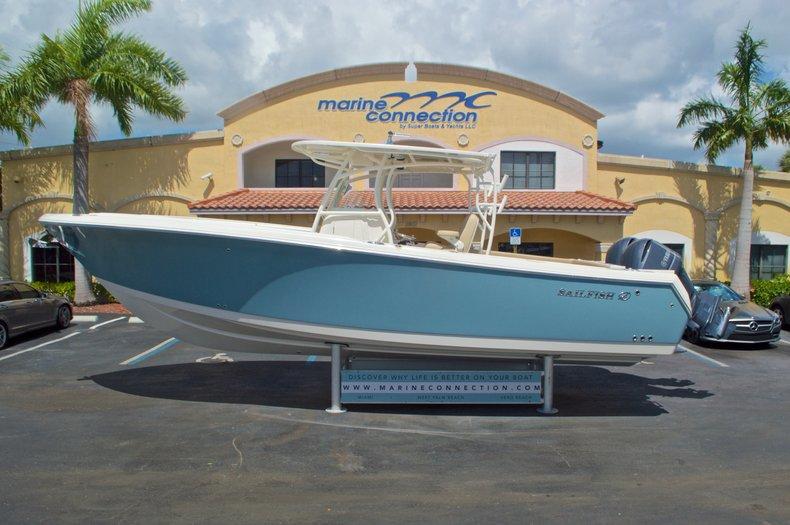 New 2017 Sailfish 320 CC Center Console boat for sale in Vero Beach, FL