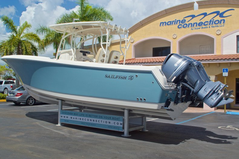Thumbnail 1 for New 2017 Sailfish 320 CC Center Console boat for sale in Vero Beach, FL