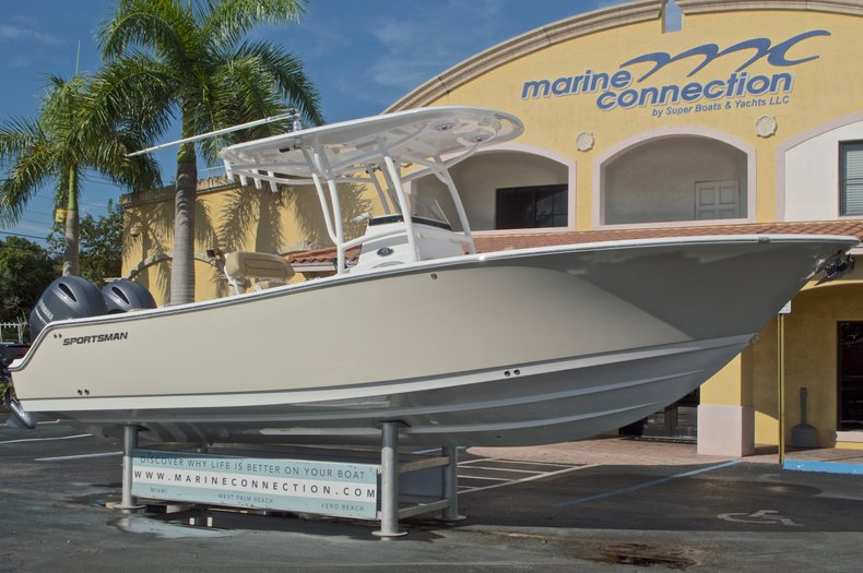 Thumbnail 1 for New 2017 Sportsman Open 252 Center Console boat for sale in Vero Beach, FL
