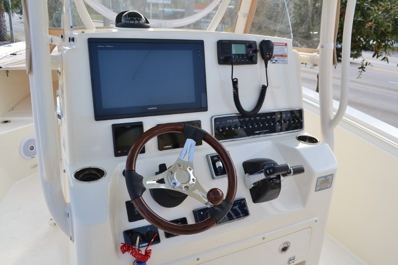 Thumbnail 9 for Used 2016 Cobia 277 Center Console boat for sale in Vero Beach, FL