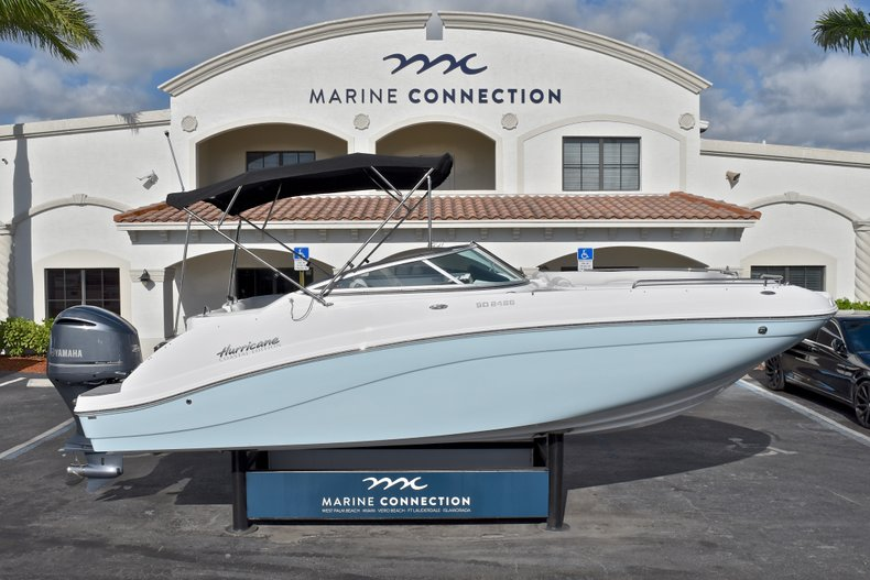 New 2018 Hurricane SunDeck SD 2486 OB boat for sale in Vero Beach, FL