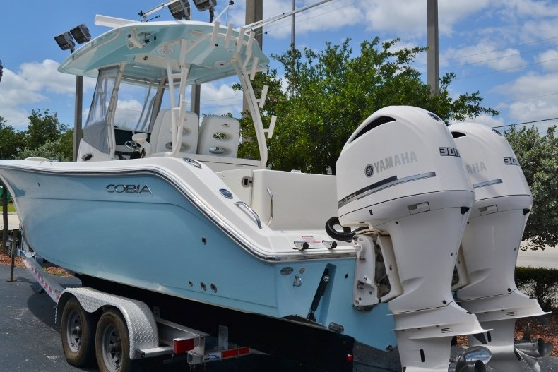 Thumbnail 3 for Used 2016 Cobia 296 Center Console boat for sale in Vero Beach, FL
