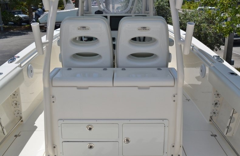 Thumbnail 10 for Used 2016 Cobia 296 Center Console boat for sale in Vero Beach, FL