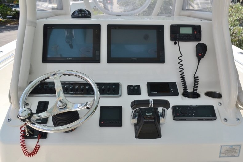 Thumbnail 12 for Used 2016 Cobia 296 Center Console boat for sale in Vero Beach, FL