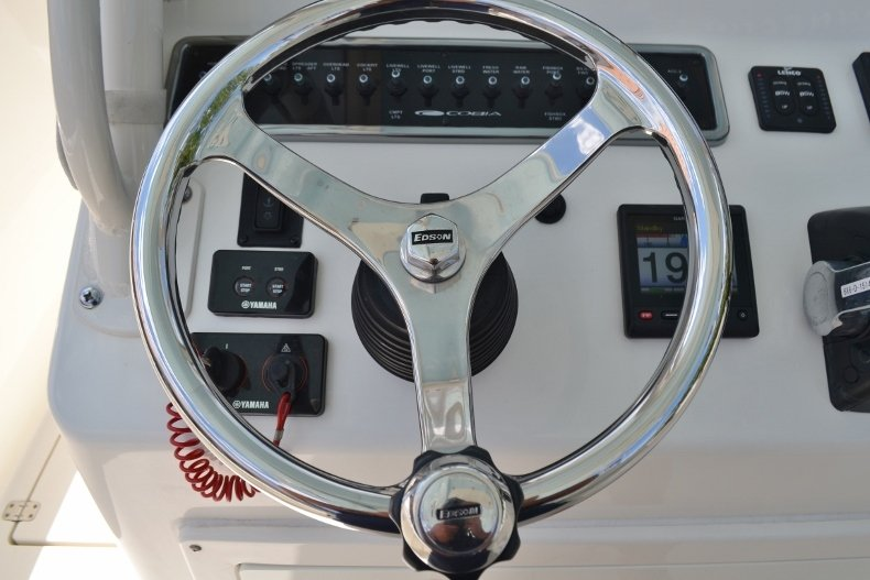 Thumbnail 18 for Used 2016 Cobia 296 Center Console boat for sale in Vero Beach, FL