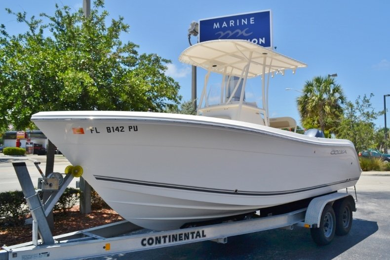 Thumbnail 1 for Used 2015 Cobia 217 Center Console boat for sale in Vero Beach, FL