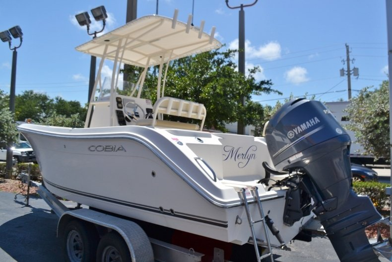 Thumbnail 3 for Used 2015 Cobia 217 Center Console boat for sale in Vero Beach, FL