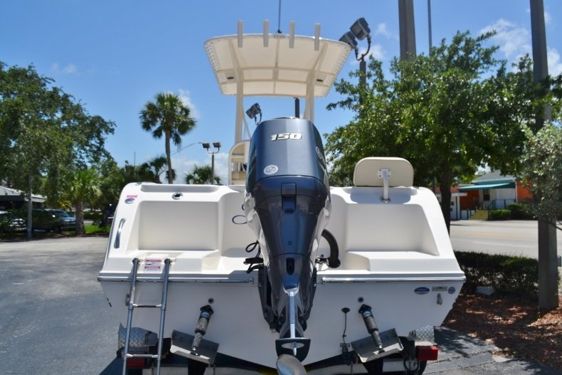 Thumbnail 4 for Used 2015 Cobia 217 Center Console boat for sale in Vero Beach, FL
