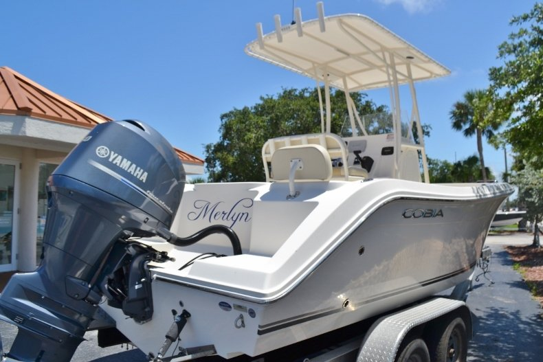 Thumbnail 5 for Used 2015 Cobia 217 Center Console boat for sale in Vero Beach, FL