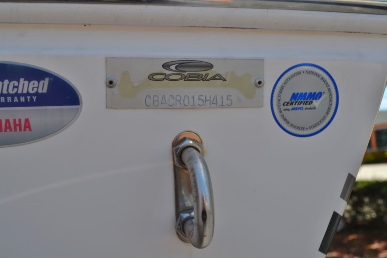 Thumbnail 6 for Used 2015 Cobia 217 Center Console boat for sale in Vero Beach, FL