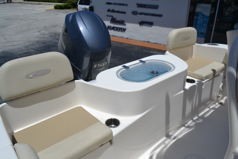Thumbnail 16 for Used 2015 Cobia 217 Center Console boat for sale in Vero Beach, FL