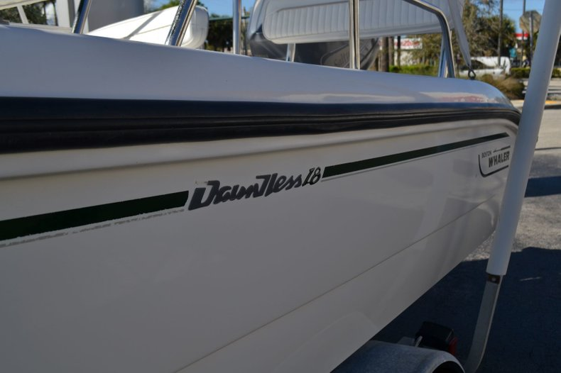 Thumbnail 8 for Used 2000 Boston Whaler 18 Dauntless boat for sale in Vero Beach, FL