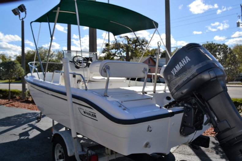 Thumbnail 3 for Used 2000 Boston Whaler 18 Dauntless boat for sale in Vero Beach, FL